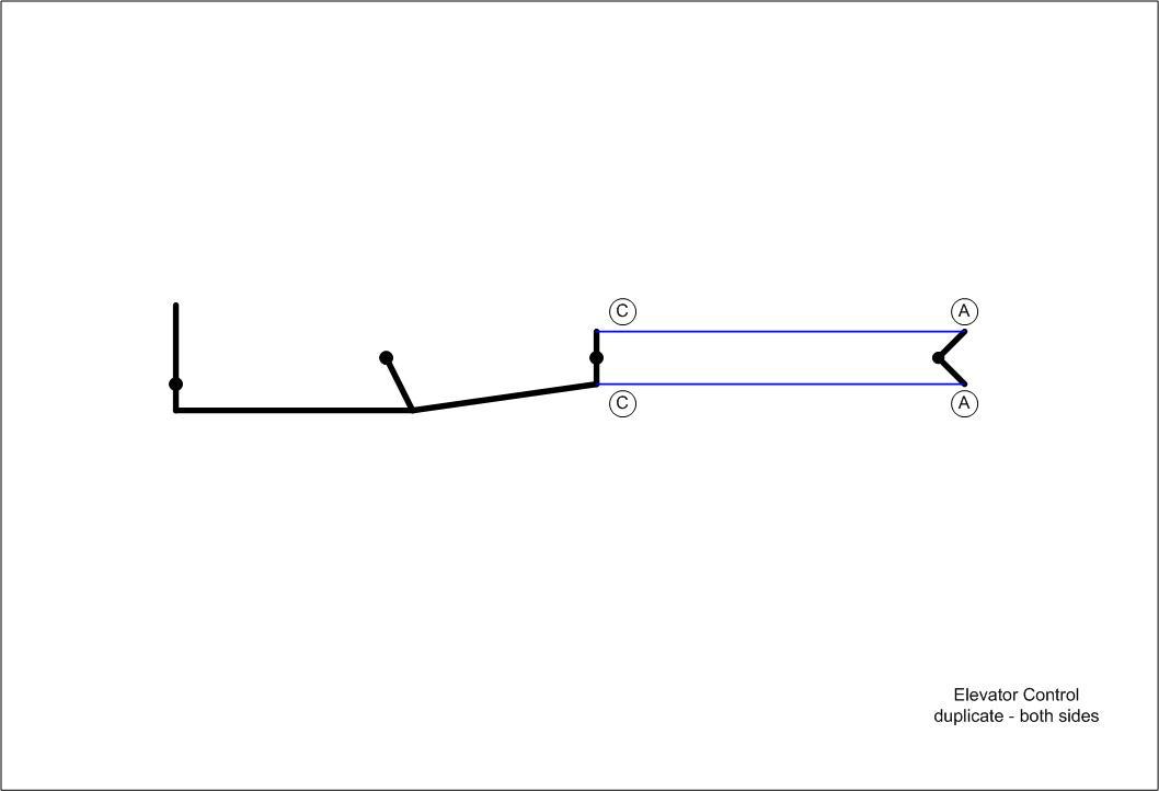 control cable drawings pete s pietenpol detail a detail b detail c detail d elevator